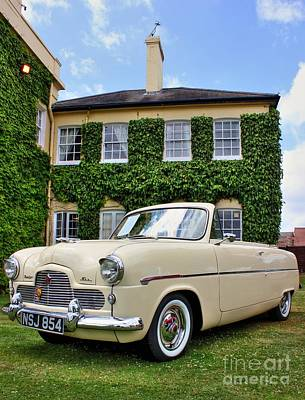 Photograph - Ford Zephyr Six by Vicki Spindler