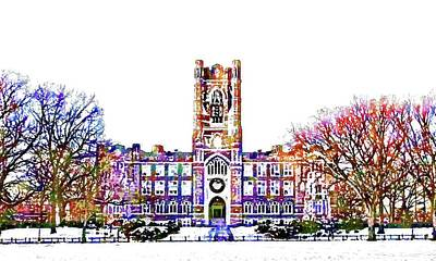 Mixed Media - Fordham University by DJ Fessenden
