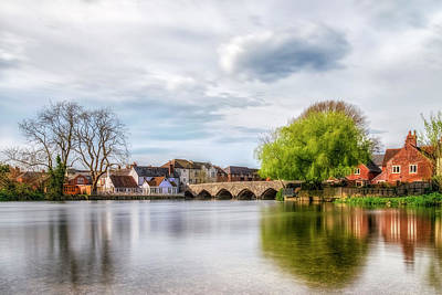 Avon Photograph - Fordingbridge - England by Joana Kruse