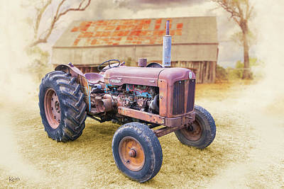 Photograph - Fordson by Keith Hawley