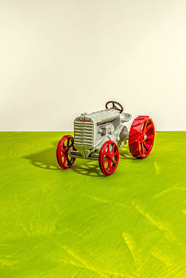 Photograph - Fordson Tractor Profile by Yo Pedro