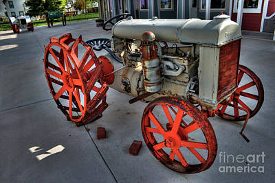 Photograph - Fordson Tractor by Tony Baca