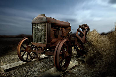 Photograph - Fordson Tractor by Yo Pedro