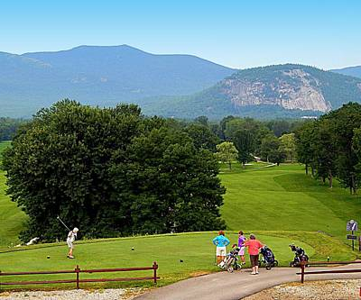North Conway Photograph - Fore by Karen Cook
