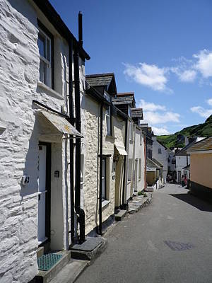 Photograph - Fore Street Port Isaac by Richard Brookes