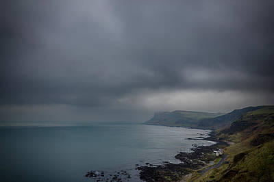 Photograph - Foreboding Fair Head by Alex Leonard