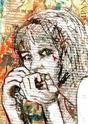 Digital Art - Foreboding by Haruo Obana