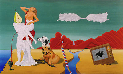 Painting - Foreign Affair by Paxton Mobley