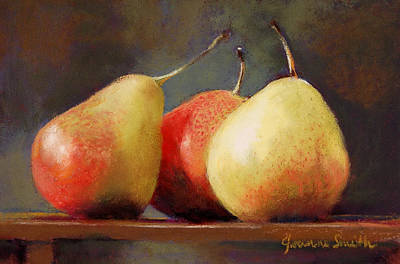 Forelle Trio Art Print by Jeanne Rosier Smith