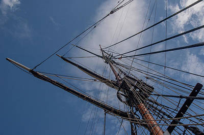 Photograph - Foremast by Herb Paynter