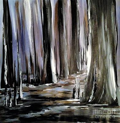 Painting - Forest 1 by Crystal Schaan
