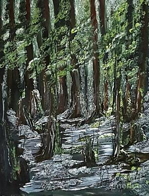 Painting - Forest 2 by Crystal Schaan