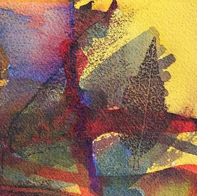 Mellow Yellow - Forest 5 by Modern Art