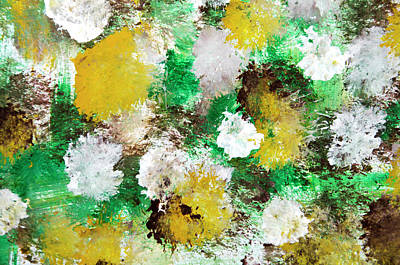 Painting - Forest Abstract Painting by Christina Rollo