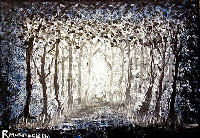 Painting - Forest by Art By Ryker