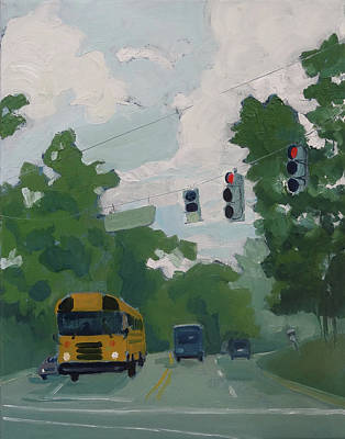 Painting - Forest Ave by Laura Wilson