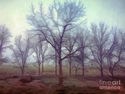 Art Print featuring the photograph Forest Ballet by Kerri Farley