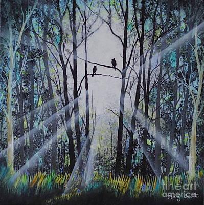 Forest Birds Art Print