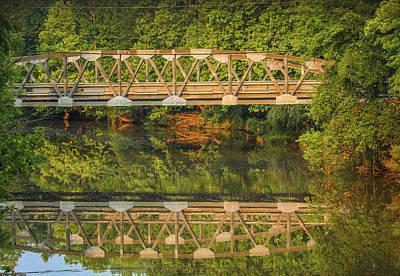 Photograph - Forest Bridge by Dan Sproul