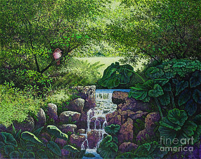 Painting - Forest Brook Iv by Michael Frank