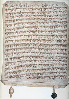 Photograph - Forest Charter, 1217 by Granger