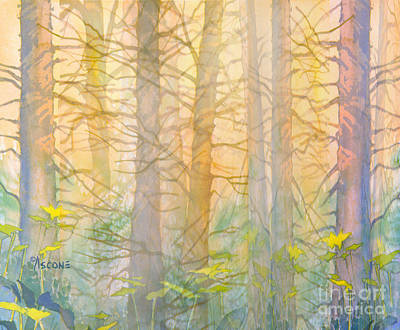 Painting - Forest Curtain by Teresa Ascone