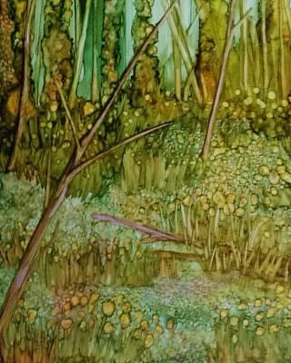 Forest Deep Art Print