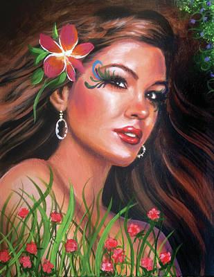 Painting - Forest Fairy by Robert Korhonen