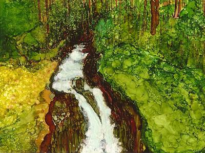 Painting - Forest Fall by Joy Dorr