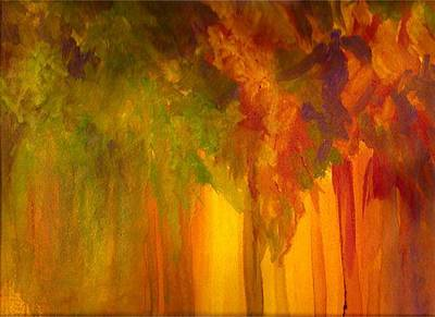 Painting - Forest Fire by Parag Pendharkar