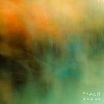 Abstract Movement Photograph - Forest Fires by Emilio Lovisa