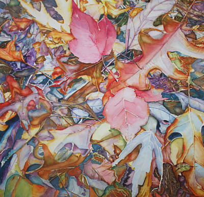 Painting - Forest Floor Tapestry by Christiane Kingsley