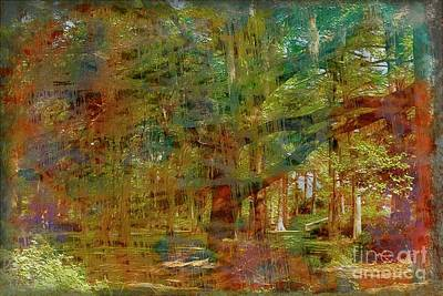 Mixed Media - Forest For The Trees by Bob Pardue