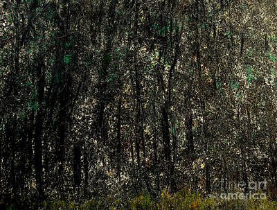Back To Life Painting - Forest For The Trees by Rick Maxwell