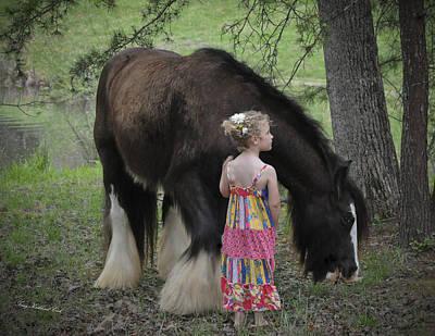 Best Friend Photograph - Forest Friends by Terry Kirkland Cook