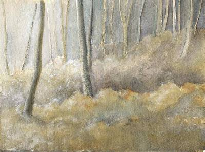 Painting - Forest Frost by Lisa Le Quelenec