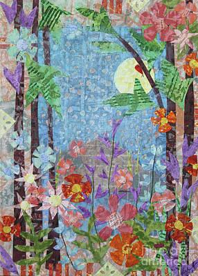 Mixed Media - Forest Garden by Janyce Boynton