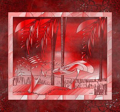 Digital Art - Forest Gem by Iris Gelbart