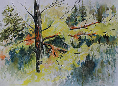 Painting - Forest Giant by Joanne Smoley