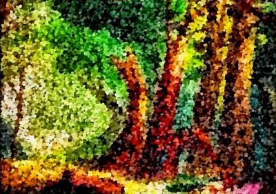 Digital Art - Forest Glade  by Mario Carini