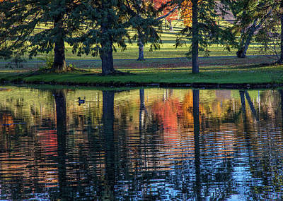 Forest Hill Reflections I Art Print