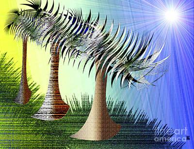 Digital Art - Forest Home 2 by Iris Gelbart