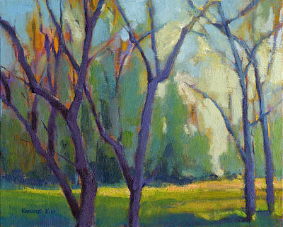 Painting - Forest In Spring by Konnie Kim