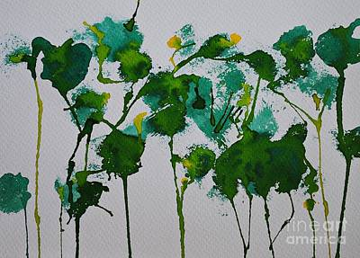 Painting - Forest In The Spring by Chani Demuijlder