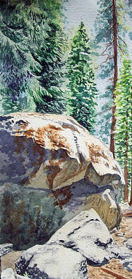 Forrest Painting - Forest by Irina Sztukowski