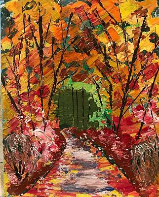 Painting - Forest by Jim McCullaugh