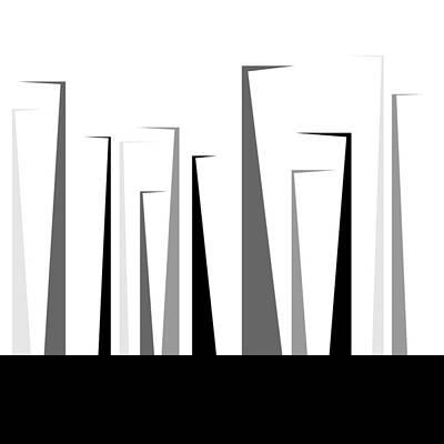 Digital Art - forest - XL limited run by Lars B Amble