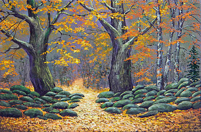 Forest Light Original by Frank Wilson