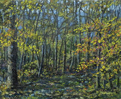 Painting - Forest Light by Kathleen McDermott