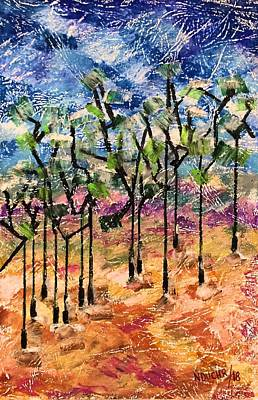 Painting - Forest by Norma Duch